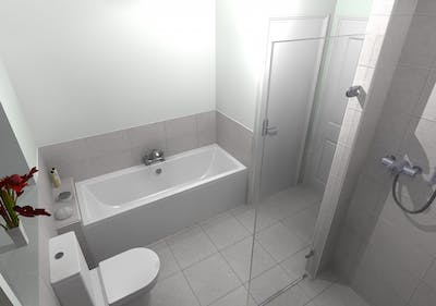 Wet Room / Wet Floor Shower - designed, supplied & installed