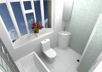 Easy Access Shower Room - design, supplied & installed