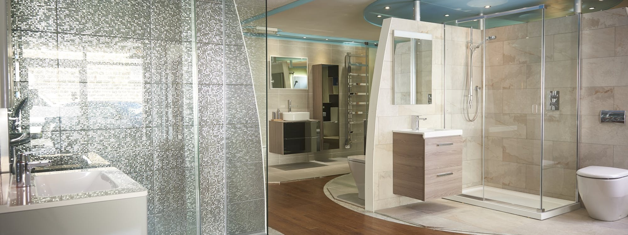 With over 350 products on display you'll find everything you want at our Harrogate Bathroom Showroom.