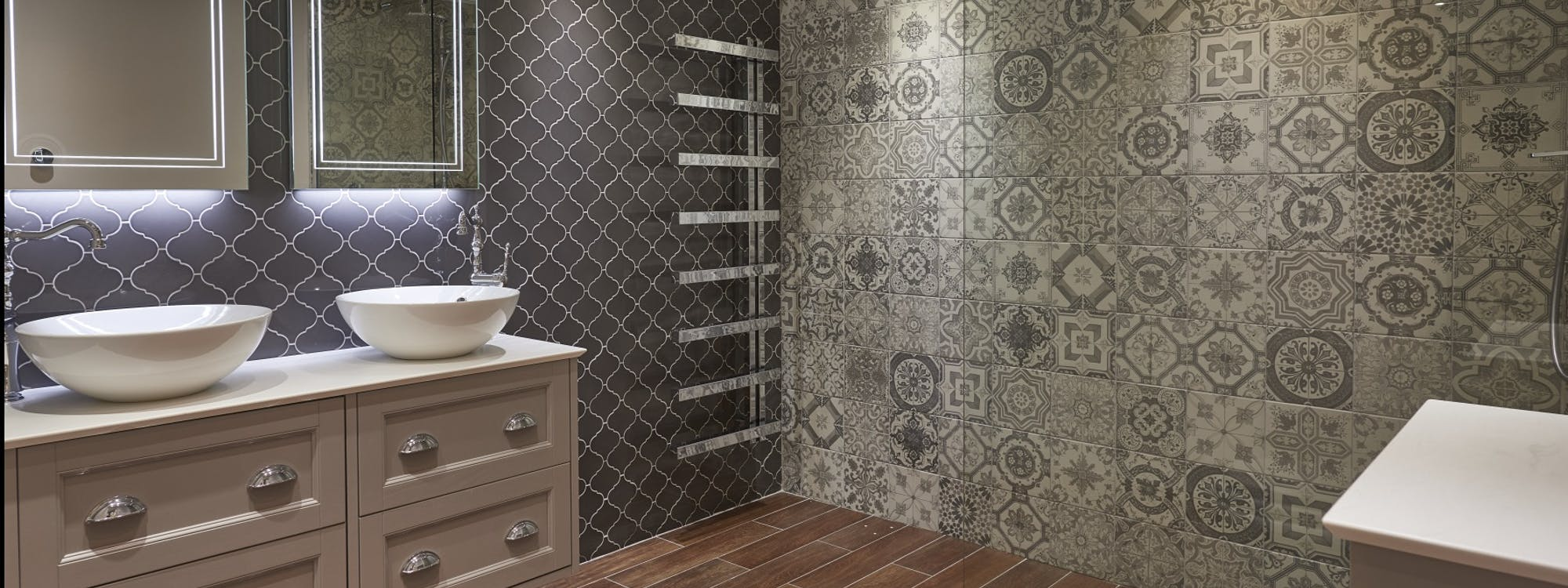 Occupying a 3000sqmt space our Harrogate Bathroom Showroom features 25 dedicated displays