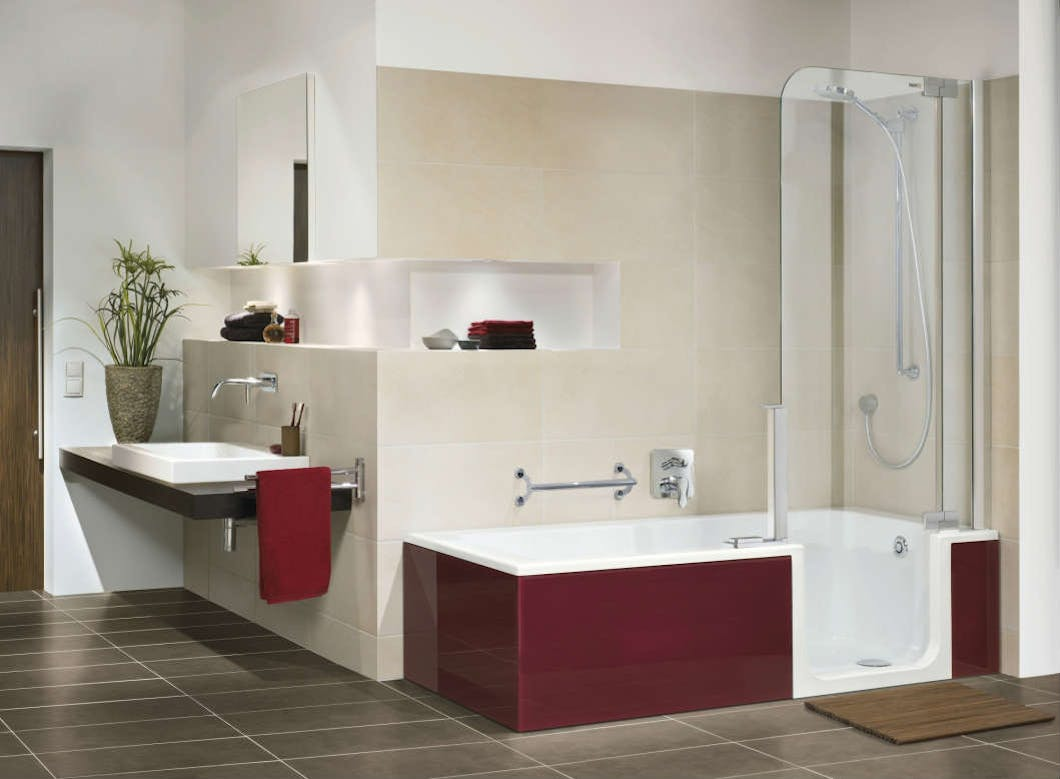 Future proof your home with the design & installation of an easy access bathroom.