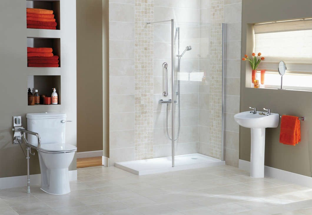 walk-in showers, wet rooms, wet floor showers and level access shower solutions all form part of our easy access shower solutions range.
