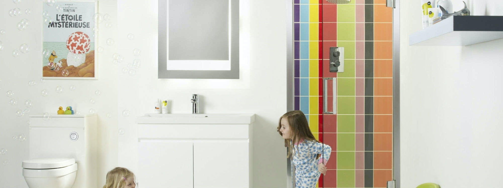A bathroom should be the ideal place to relax and unwind, but at More Bathrooms, we understand that a busy family bathroom needs to work a little harder to accommodate the needs everyone in your household.