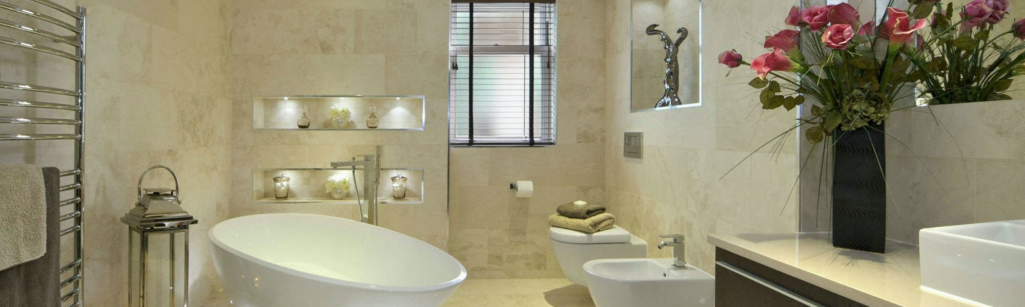 Bathrooms refurbishment - design, supply & install