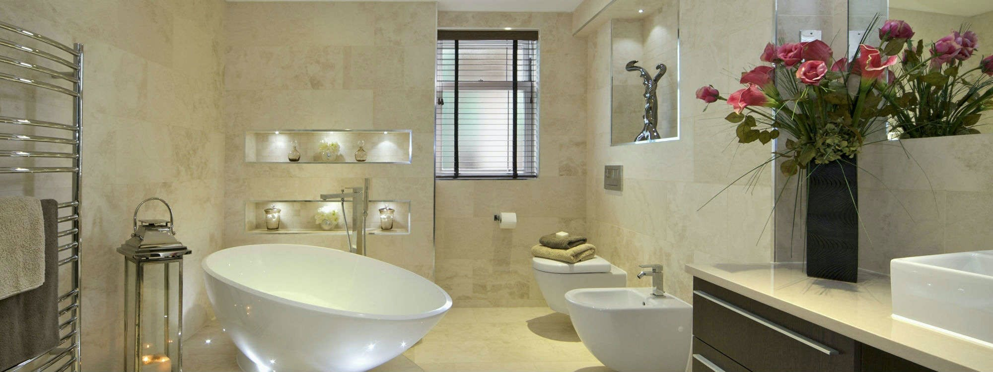 For your very own, simply stunning, luxury bathroom suite that provides you with a beautiful space in which to relax and unwind at the end of your busy day choose More Bathrooms.