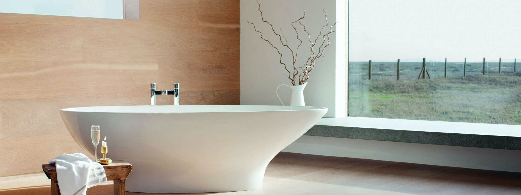 At More Bathrooms our aim is to help you create your very own relaxing sanctuary within your own home in the form of a large and luxury bathroom.