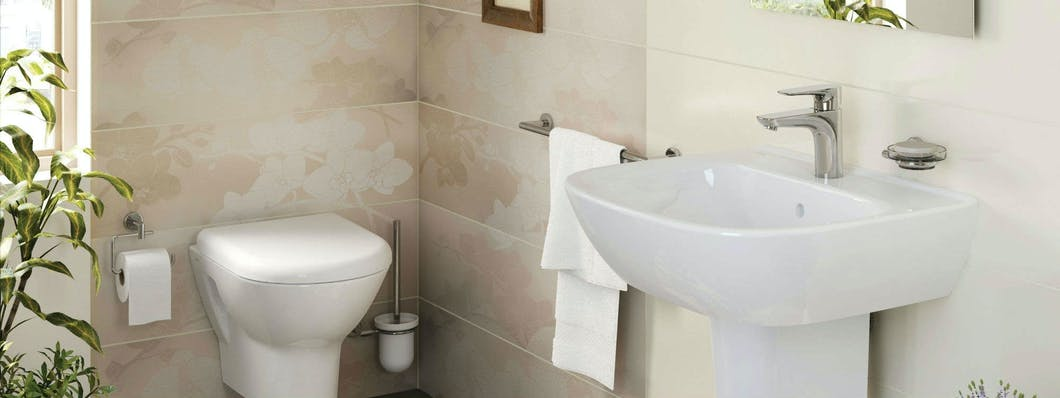 Cloakroom bathrooms can add value to your home while keeping your main house bathroom private.