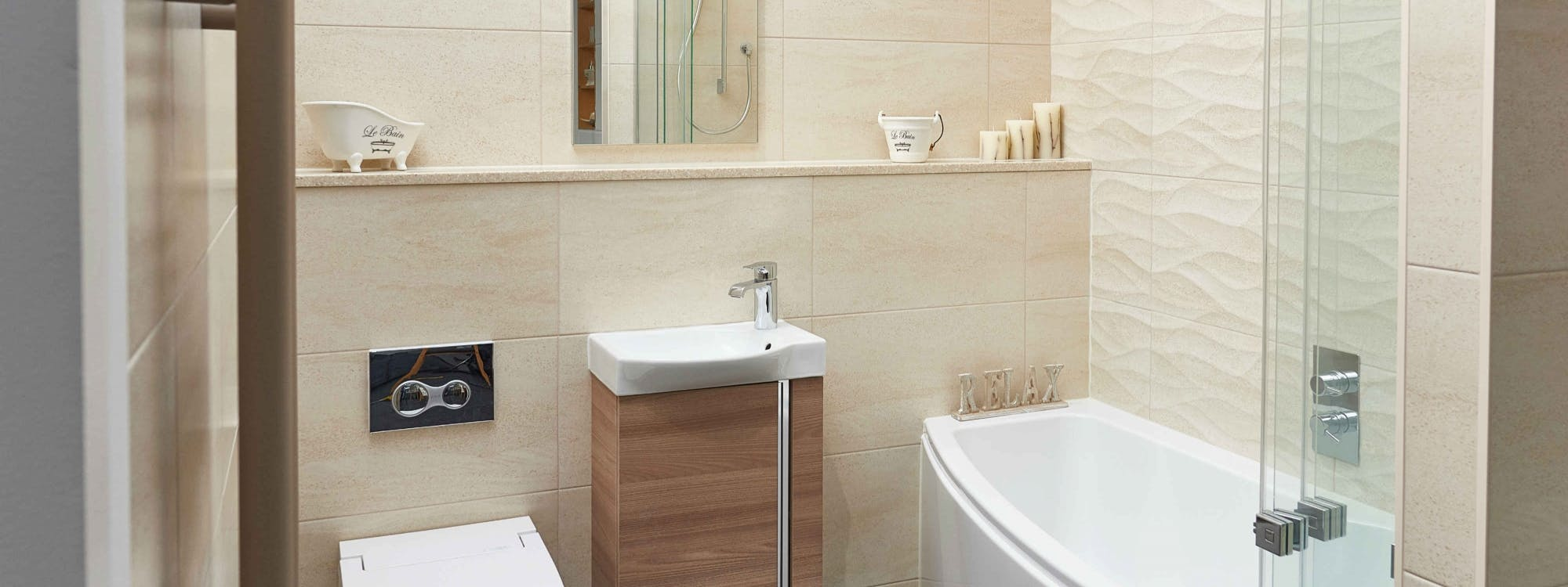 Our Leeds Bathroom Showroom features traditional, modern and luxury fixtures and fittings.