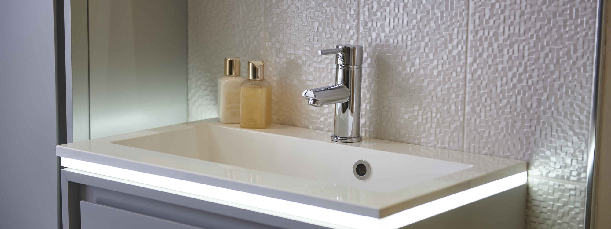 At our Leeds Bathroom Showroom we display over 300 products.