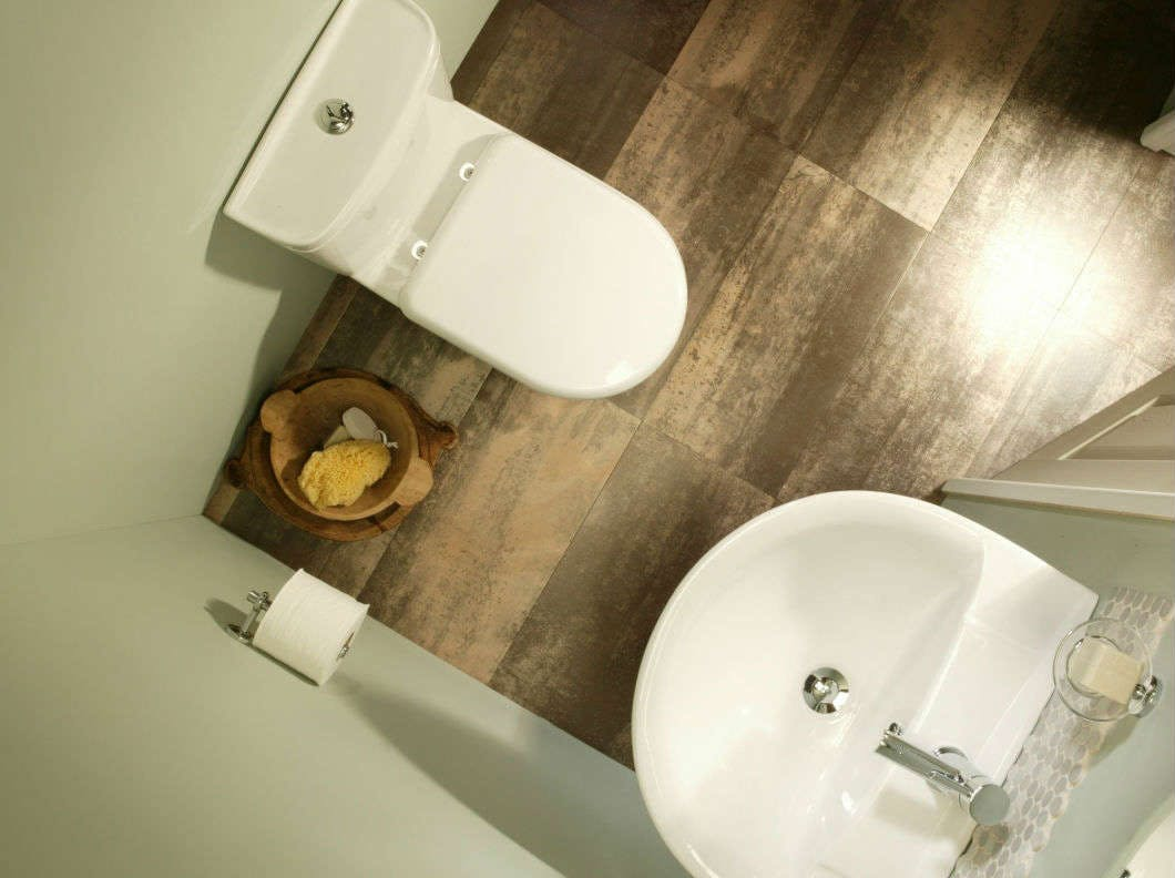 Certain fixtures lend them perfectly to small bathrooms - like corner basins, WC's and wall mounted fixtures and fittings.