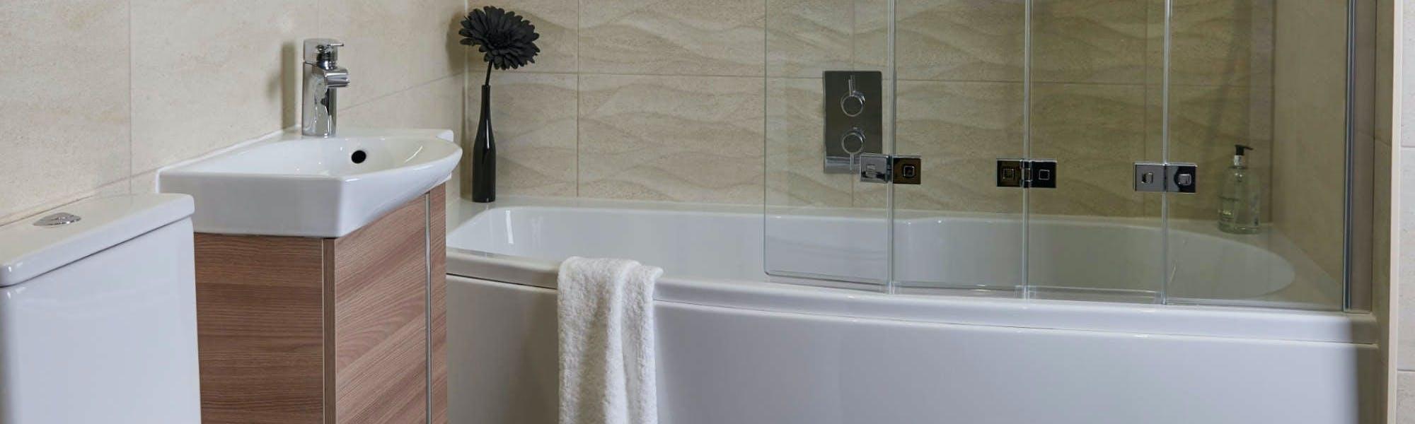 Small Bathroom Suites   Designs & Installation by More Bathrooms