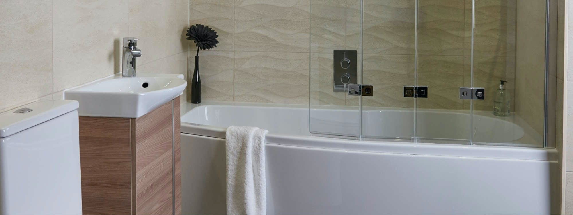 Small bathrooms designed installed by more bathrooms for Bathroom design leeds