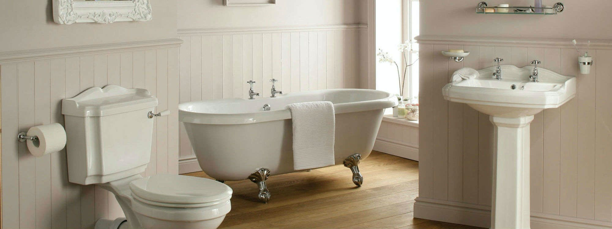 Traditional bathrooms designed installed by more bathrooms for Bathroom design leeds