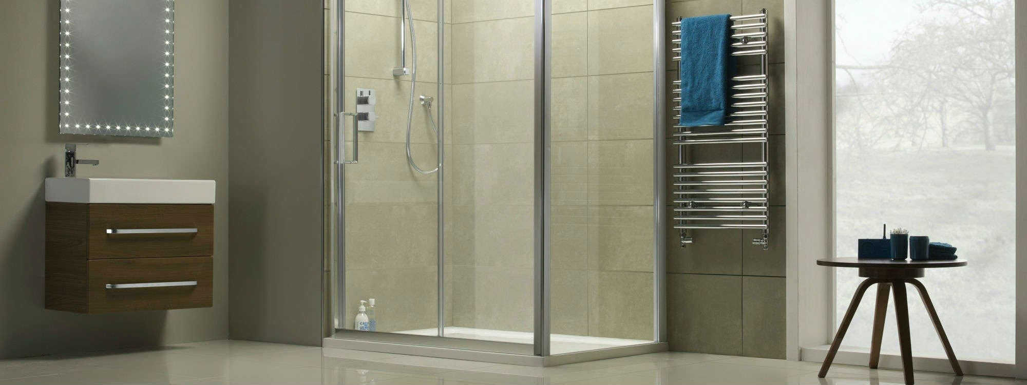 Often bespoke, to meet individual wants and needs, walk-in shower enclosures can easily lend themselves to many popular styles while adding that 'wow' factor to your home.