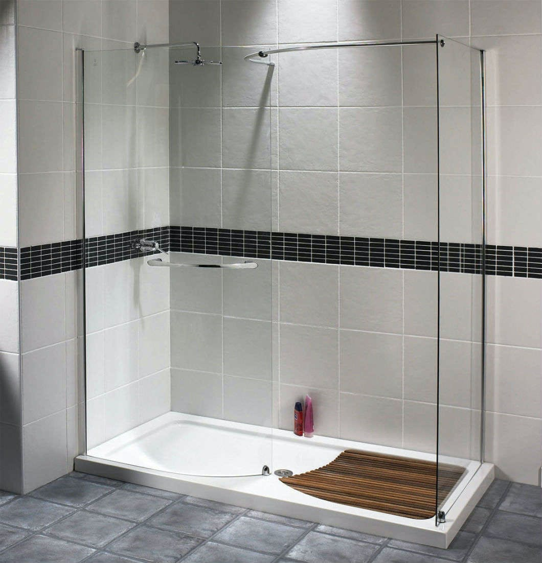 Typically a walk-in shower enclosure is used as a suites statement feature due to it's large and luxurious appearance - they really do add that 'wow' factor to any modern day home.
