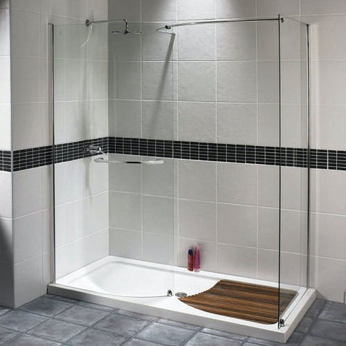 Create the perfect mix of modern showering & functionality with the installation of a walk-in shower enclosure.