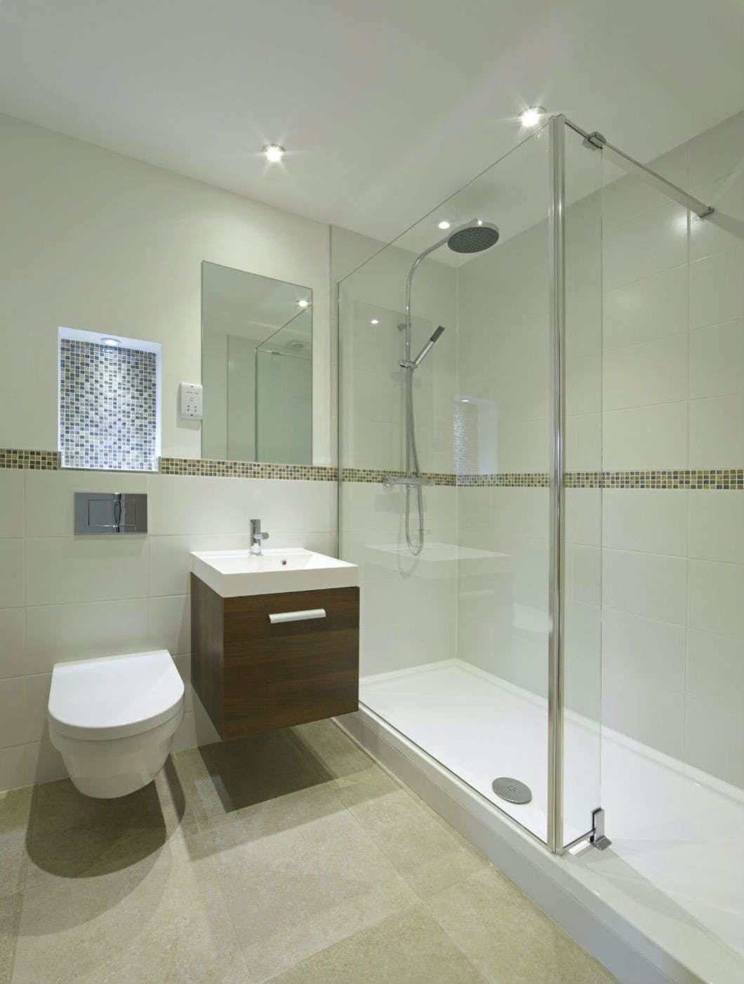 Walk-In shower enclosures are usually the shower solution of choice when there is ample space and showering is preferable over bathing; often a result of a busy, hectic lifestyle.