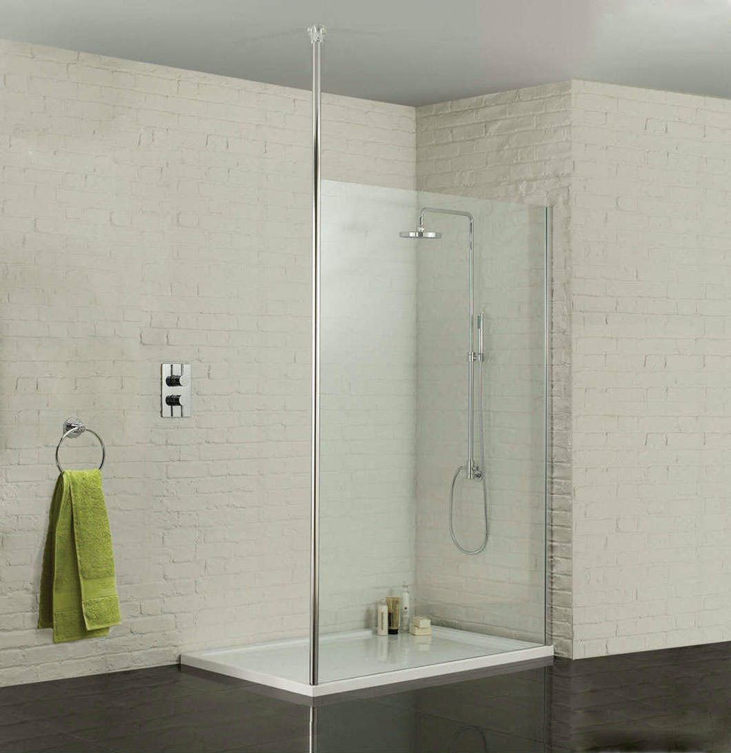 At more bathrooms we can design, supply & install you a beautiful walk-in shower enclosure.