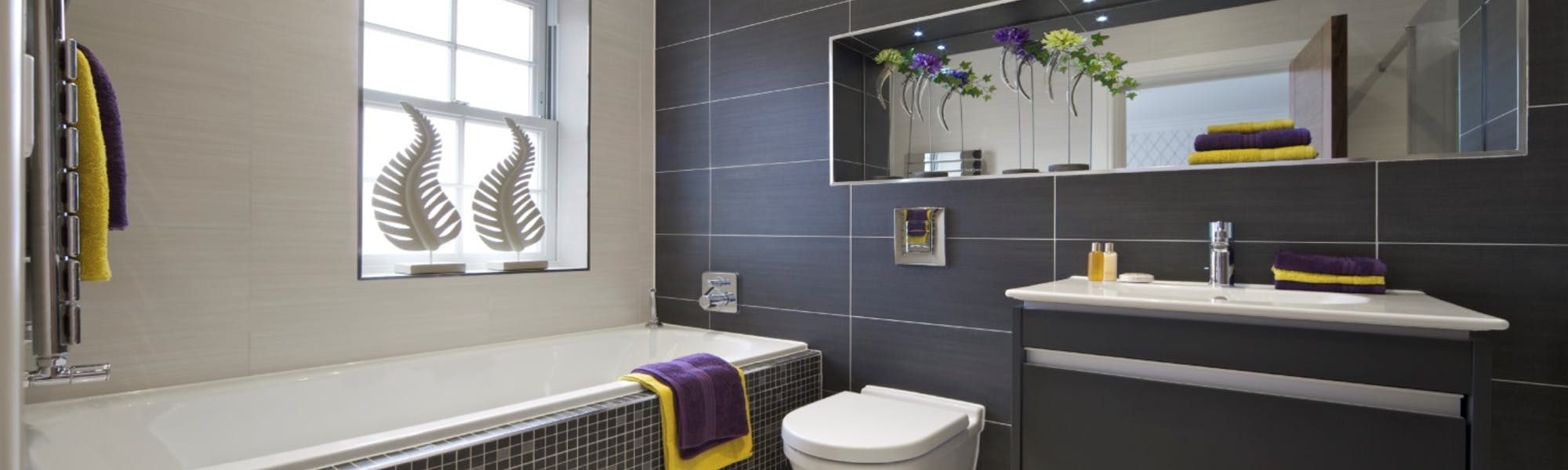 We offer a selection of bathroom storage options including modular units, bespoke niches, fitted furniture and wall mounted designs.