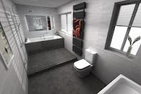 Family Bathroom Designed & Installed | More Bathrooms