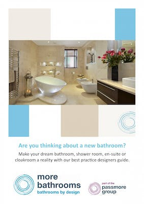 thinking about a new bathroom? download our free guide