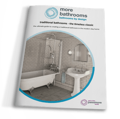 traditional bathrooms - the timeless classic. download our free guide