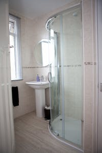 shower room enclosure / cubicle - designed, supplied & installed