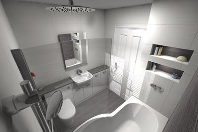 Modern Bathroom | Designed and Installed | More Bathrooms