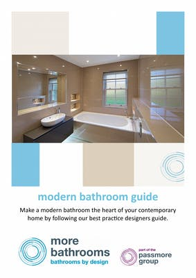 modern bathrooms - the heart of any contemporary home. download our free guide