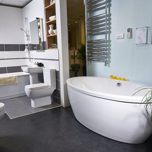 Designed and Fitted Bathrooms - More Bathrooms Leeds