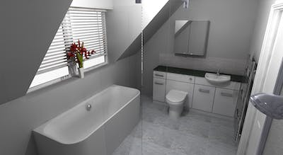 modern bathroom & en-suite - designed, supplied & installed