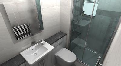 Small Bathroom  Renovation, Designed & Installed | More Bathrooms | Leeds & Harrogate