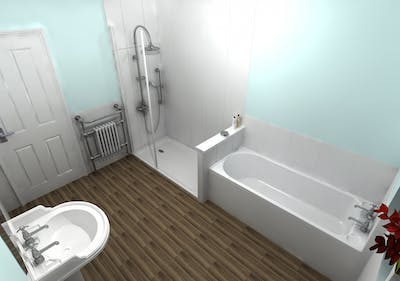 Tradition Bathroom - designed, supplied & installed