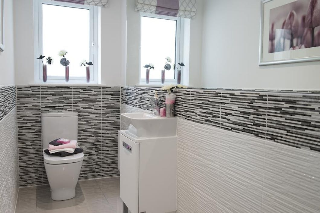 Small and perfectly formed our Cloakroom Bathrooms are designed with a busy household in mind.