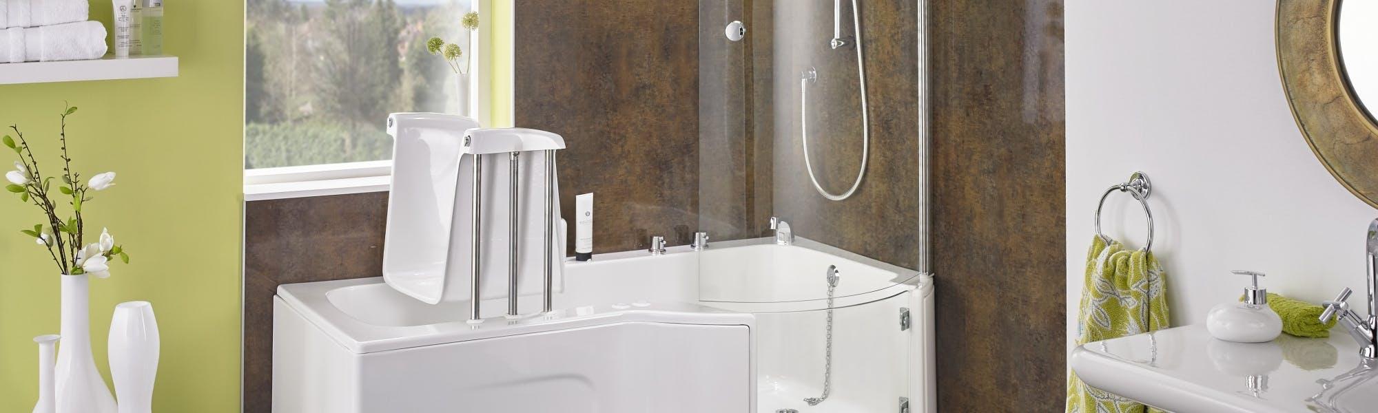 easy access bathroom - design & fit