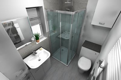 En-suite Shower Room Renovation | More Bathrooms