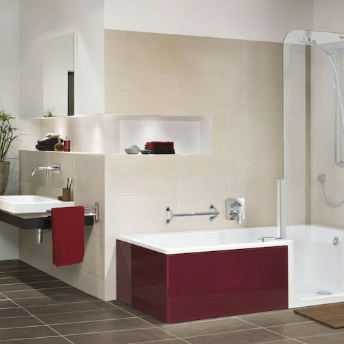Take control of your bathing experience with an easy access bathroom solution.