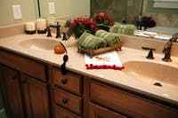 Festive fixtures and decorative designs to incorporate into your bathroom this Christmas