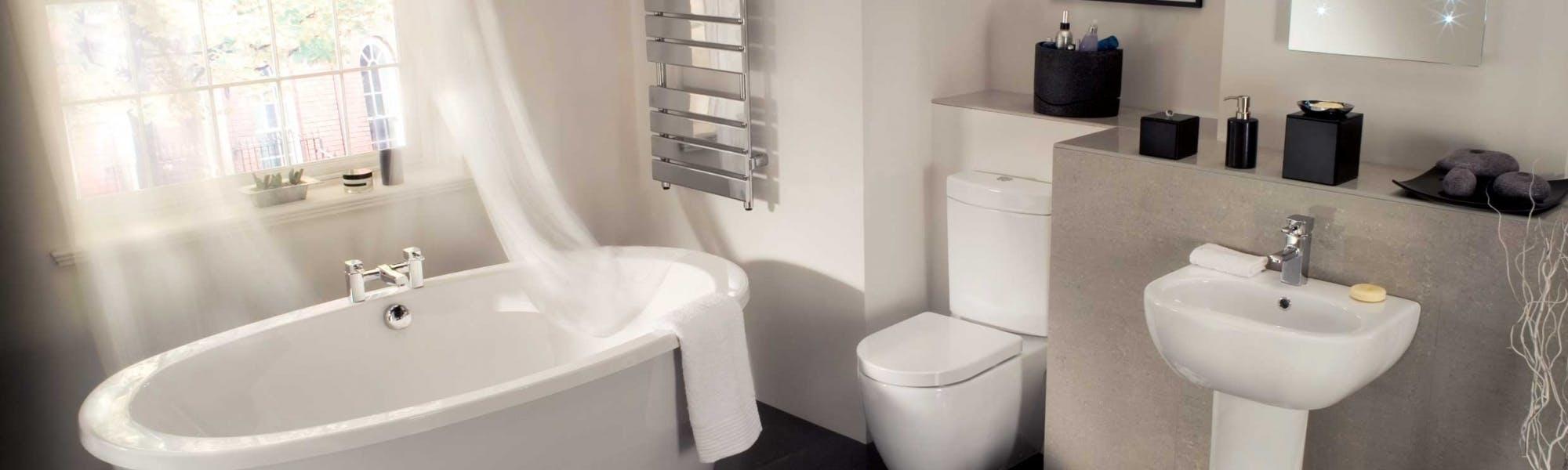 modern bathrooms - designed, supplied & installed