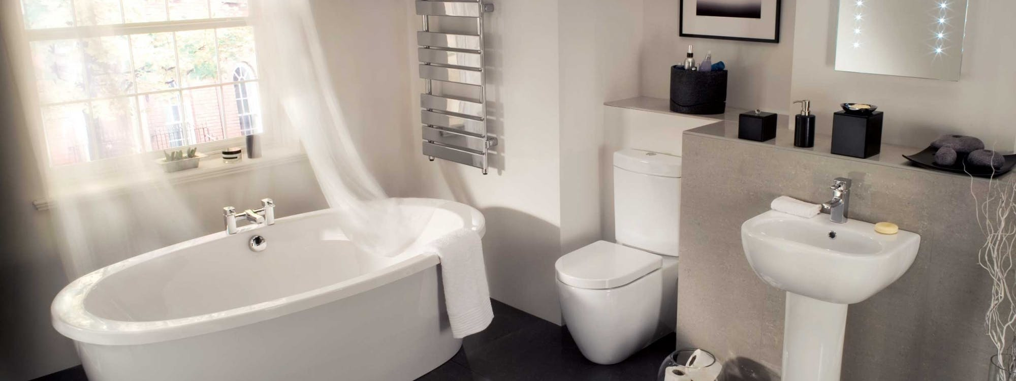 modern bathrooms - designed, supplied & installed