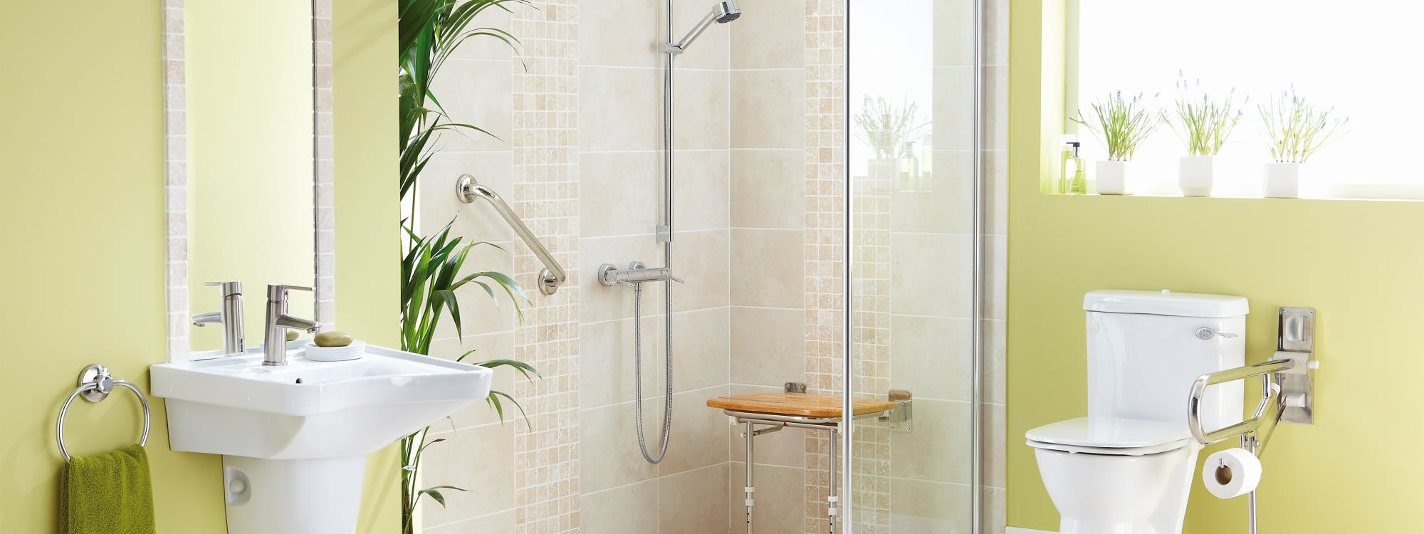 Easy Access Bath / Shower Rooms - designed, supplied & installed
