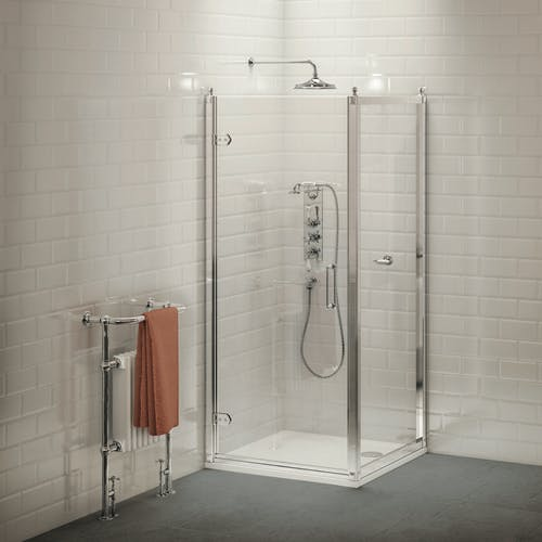 Our stunning range of shower enclosures will be sure to give you an invigorating showering experience.
