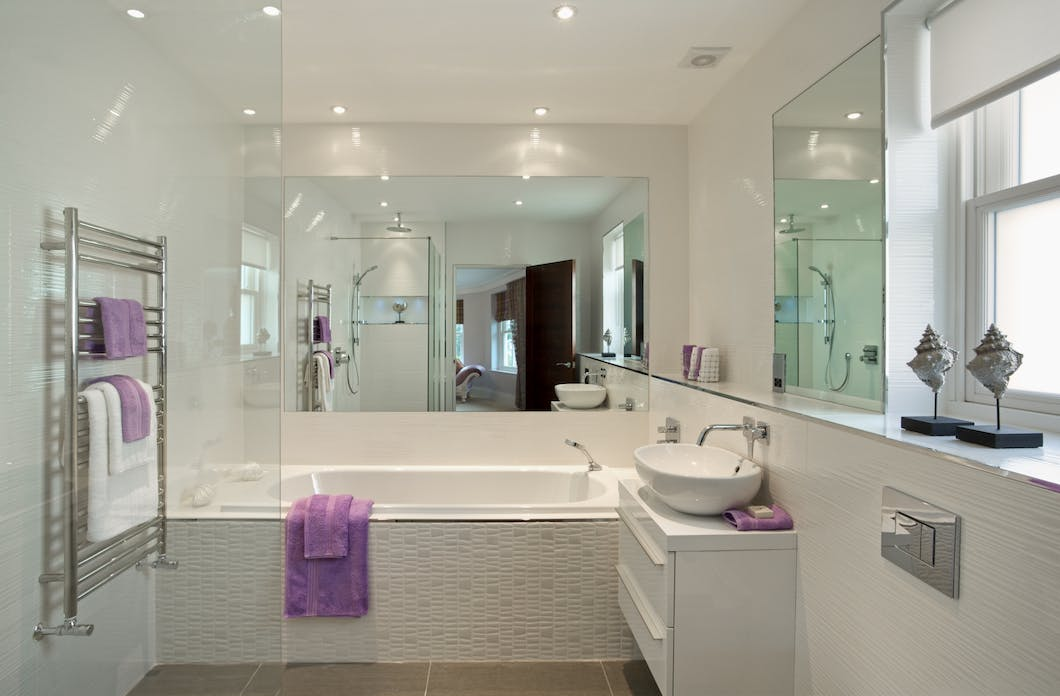 Bathroom lighting - showcase your new suite in the finest light.