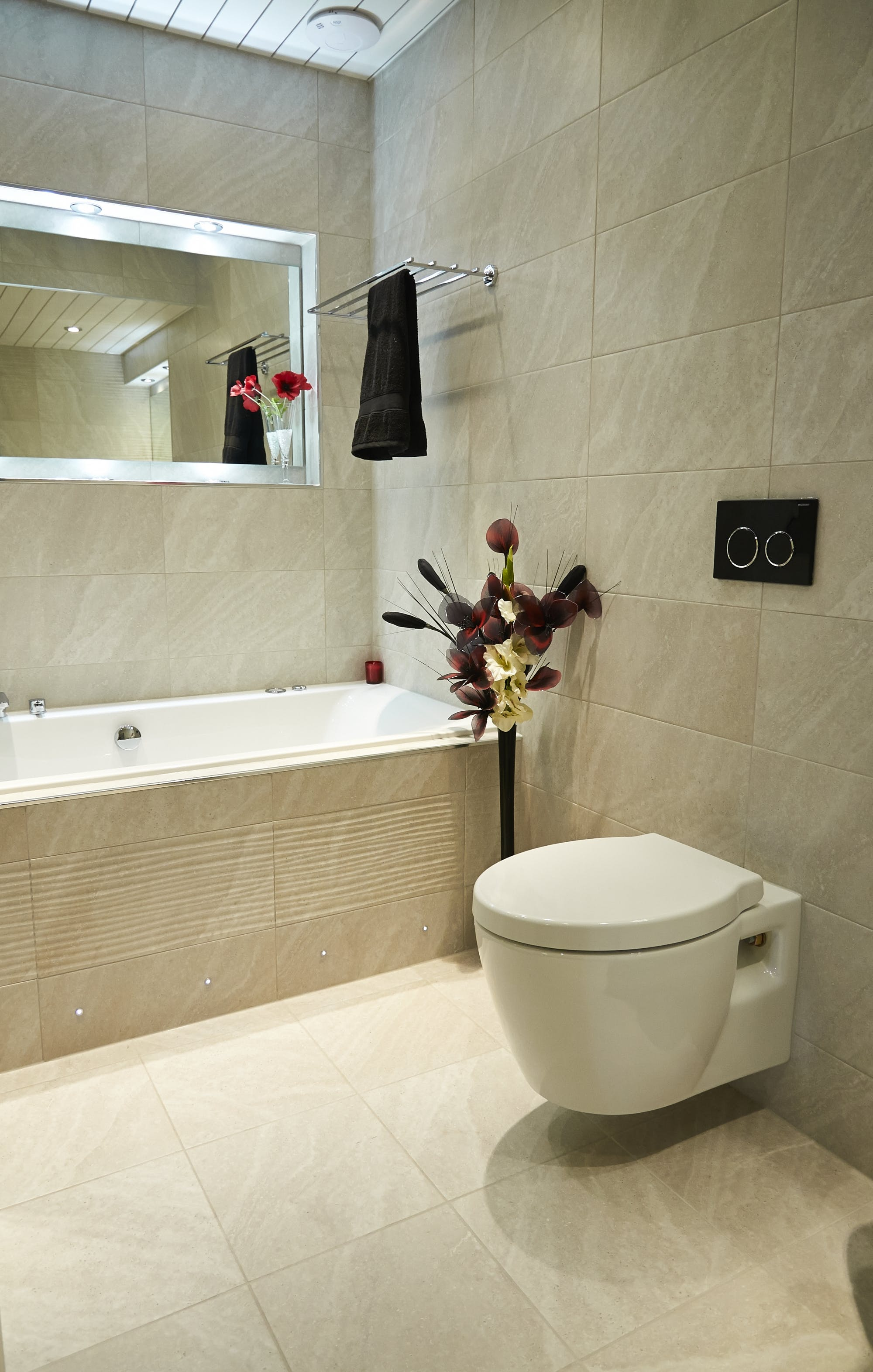 Help advice luxury bathroom display at our showroom Design your own bathroom uk