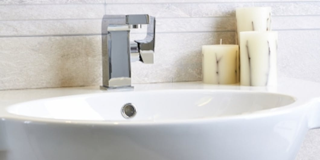 We have a selection of semi-recessed basins on display at our Leeds Bathroom Showroom.