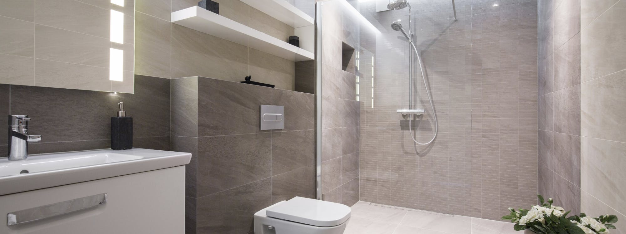 shower rooms - designed, supplied & installed