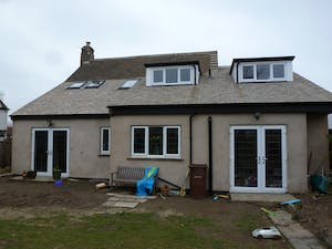 A full wrap round extension with extensive interior alterations with the use of our fully project managed service