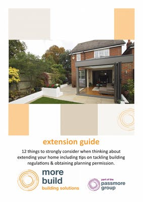 12 things to consider when thinking about an extension – download our free guide