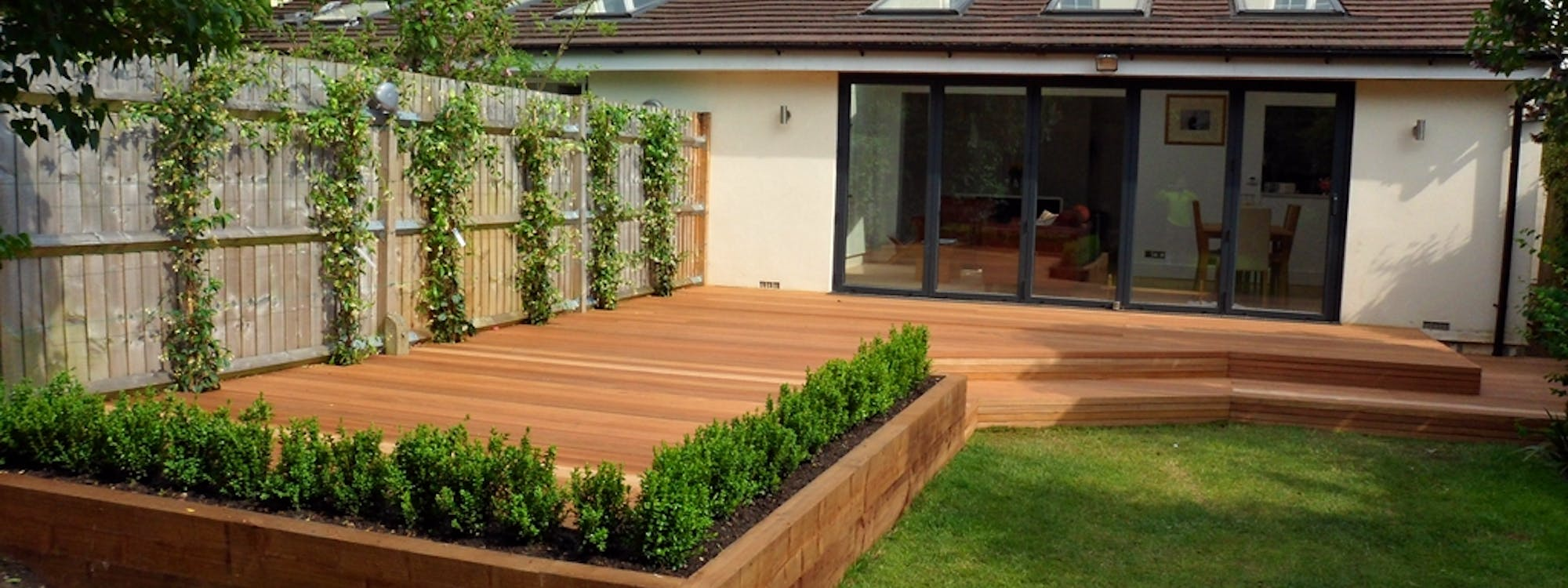 external improvements - fencing, gates & decking designed, supplied, project managed & installed