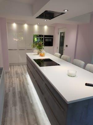 Linear Kitchen Case Study | Ilkley | West Yorkshire